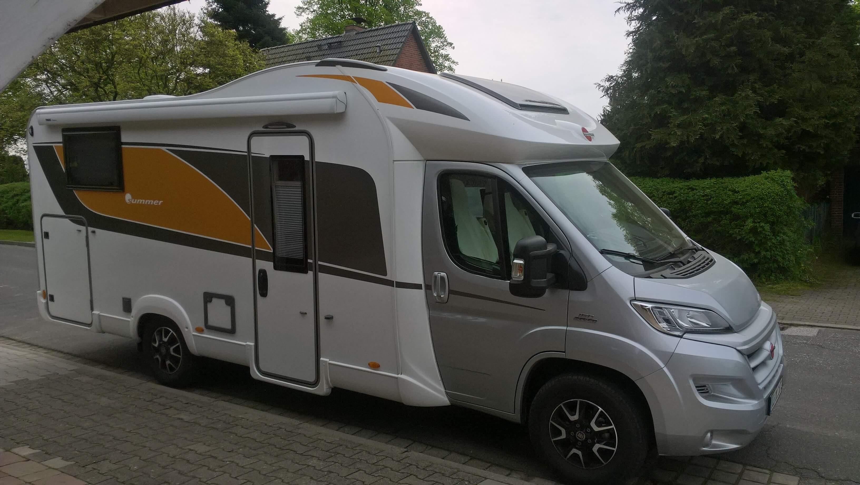 Unser neues Wohnmobil